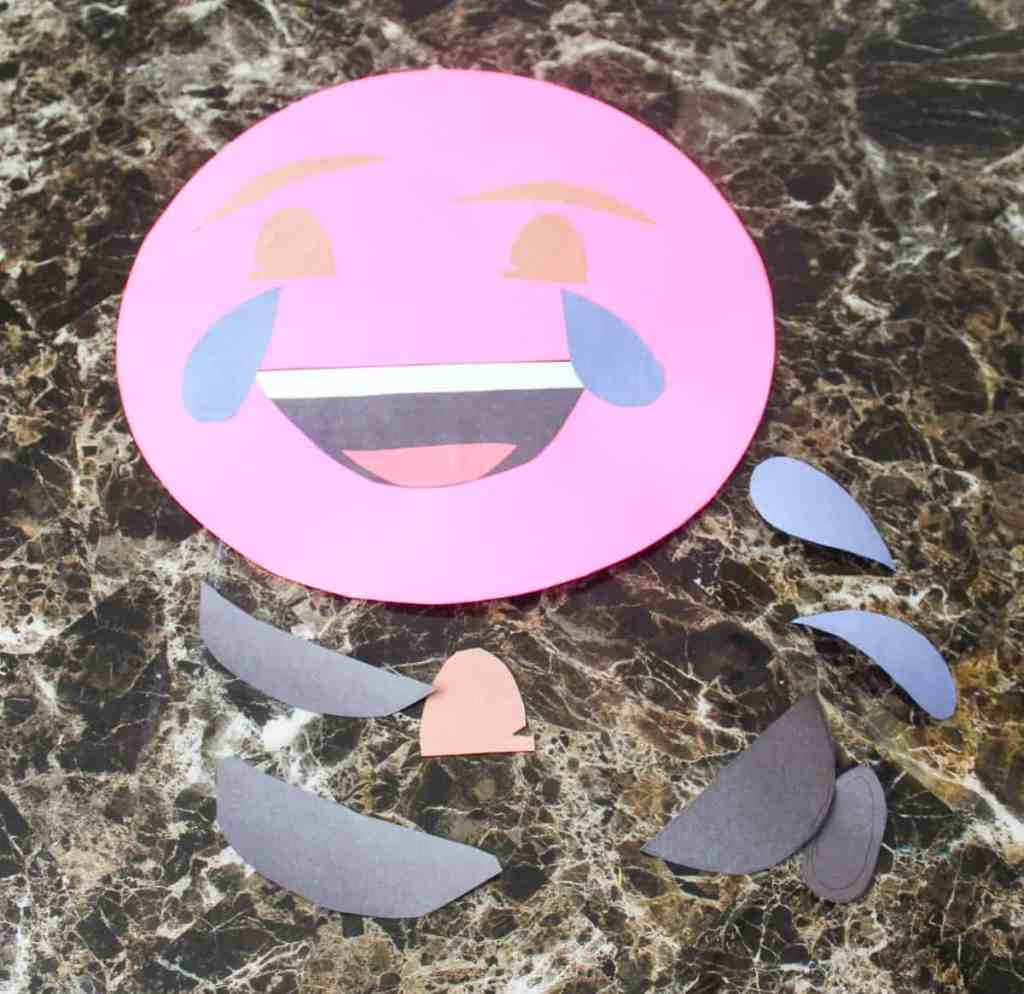 DIY emoji birthday props