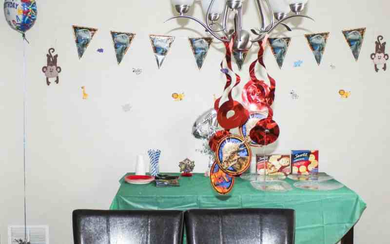 Our 4 Year Old Son's Dinosaur Birthday Party