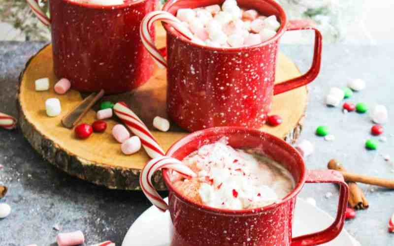 Delicious Homemade Peppermint Hot Cocoa Recipe