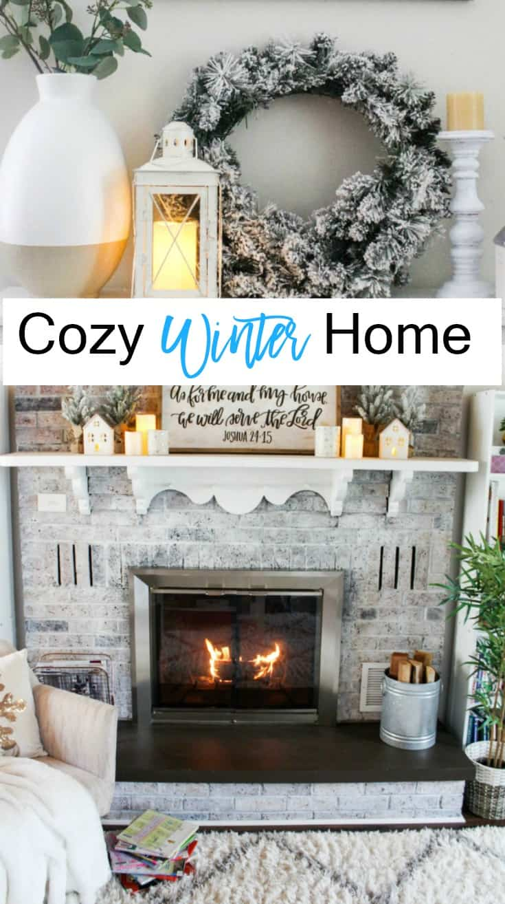 Cozy winter home