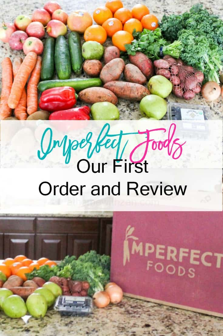 Imperfect Foods Order and Review