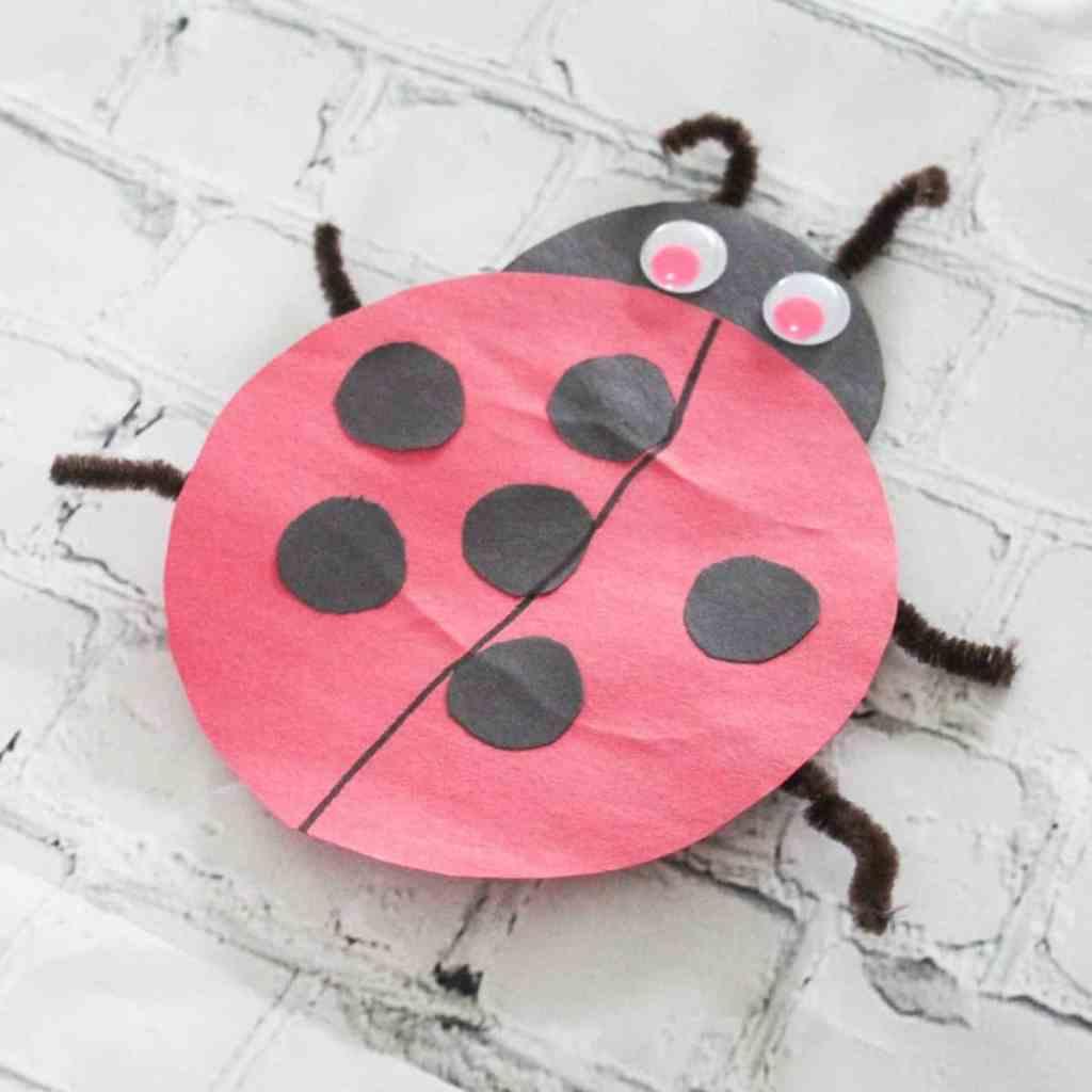 Paper Ladybugs