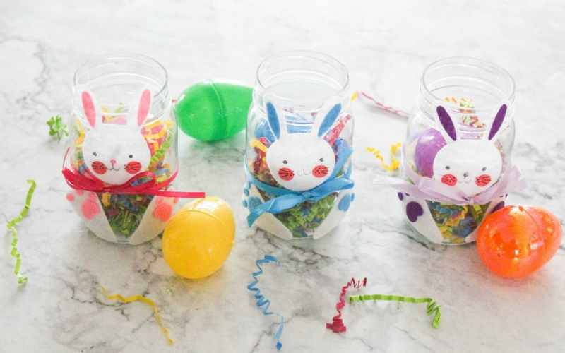 DIY Easter Treat Jars for Kids