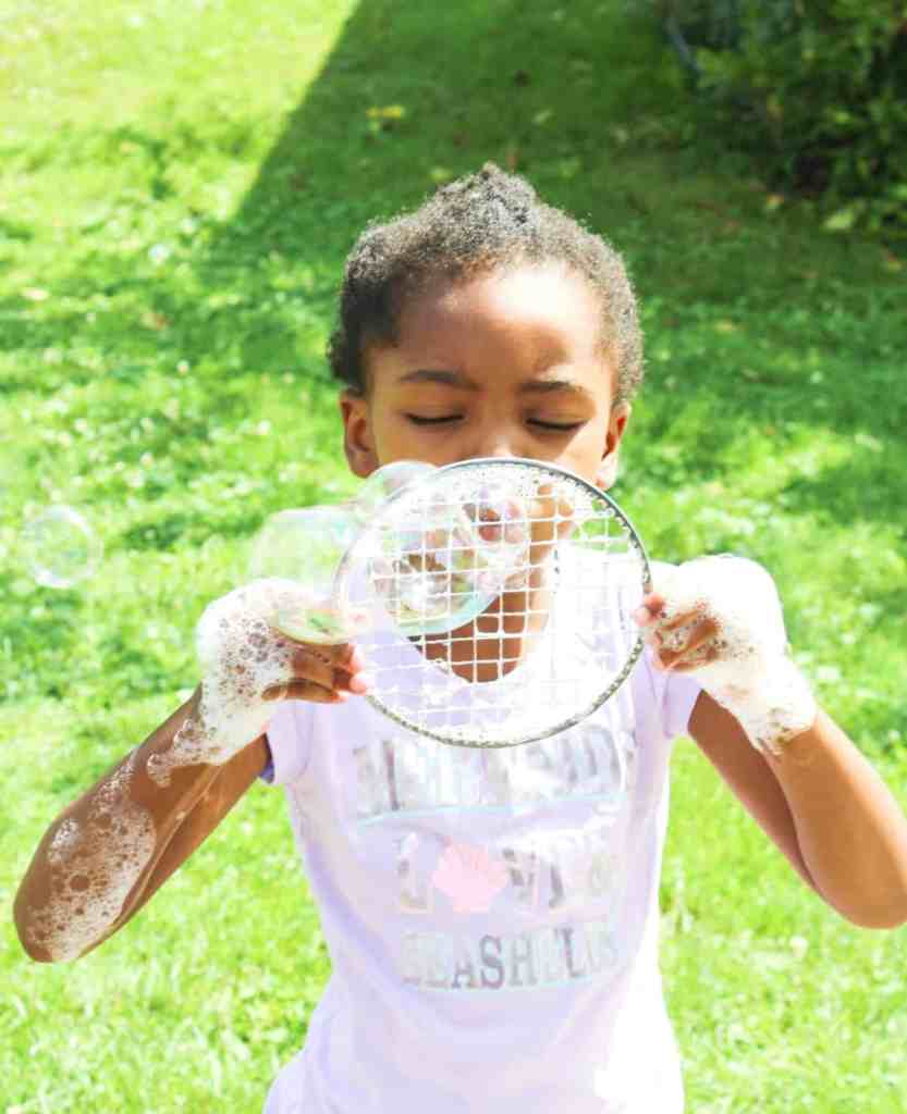 Homemade Bubbles for Kids