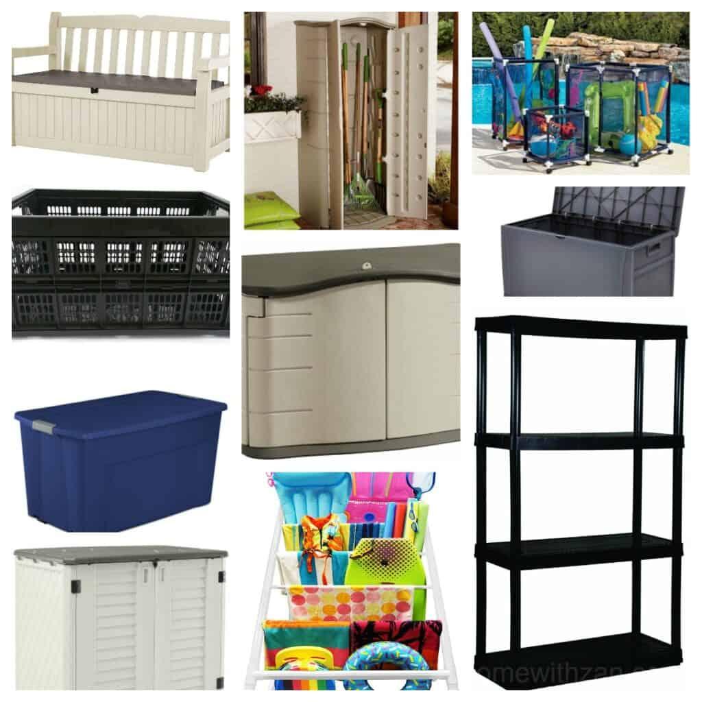 Outdoor Storage Organizers