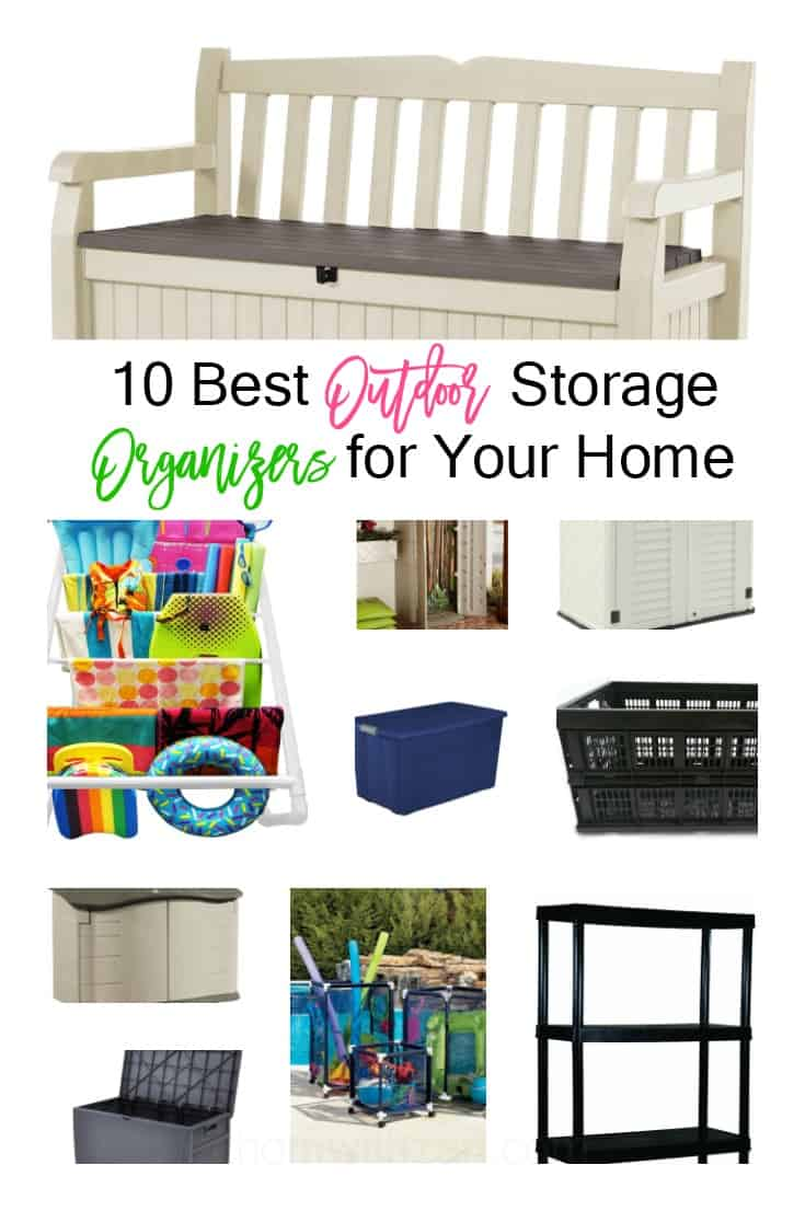 10 Outdoor Storage Organizers for Your Home - athomewithzan.com