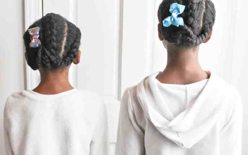 Three-Braided Hairstyle for Little Girls