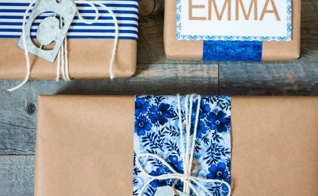 Personalized Gift Wrap A Thoughtful Place