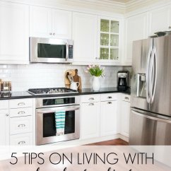 Kitchen Glass Cabinets Slate Backsplash 5 Tips On Living With A Thoughtful Place