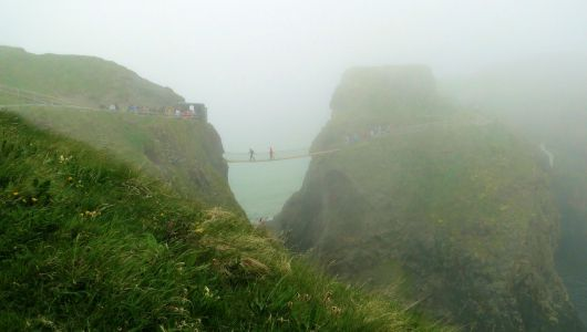 Carrick-A-Rede Rope Bridge - Ballintoy, Northern Ireland