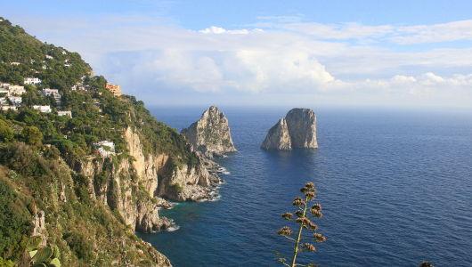 Italy - Faraglioni Rock Formation, Capri