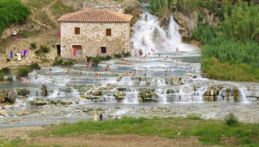 Saturnia Hot Springs - Tuscany, Italy