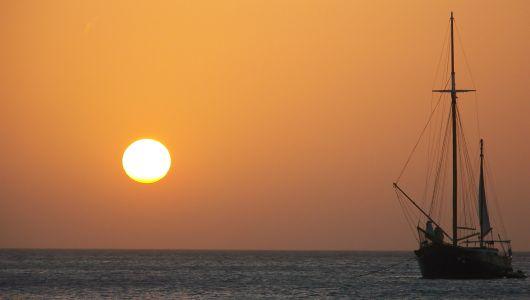 Palm Beach Sunset - Aruba
