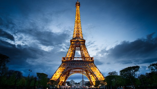 Paris, The Eiffel Tower (Tour Eiffel) I