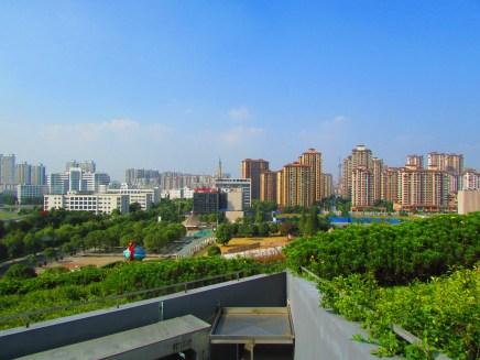 Changzhou's standard skyline