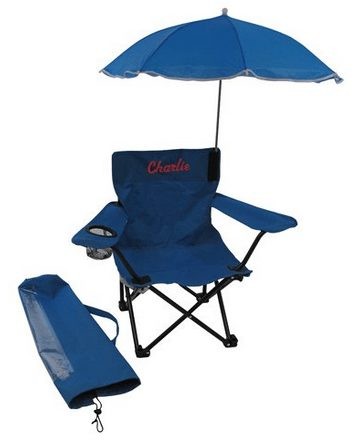 child camping chair modecraft barber personalized blue with umbrella a thrifty mom recipes crafts diy and more