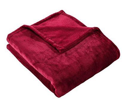 velvet plush fleece throw