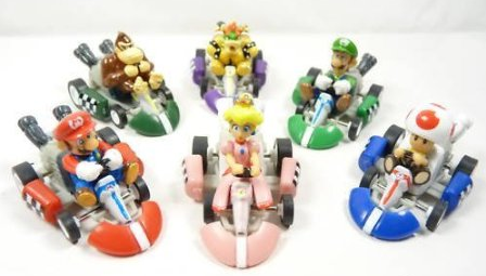 Mario Kart Wedding Cake Topper