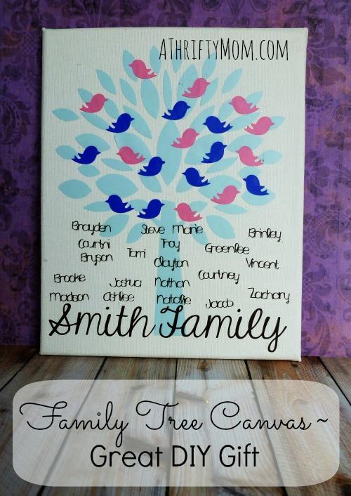 family tree canvas great