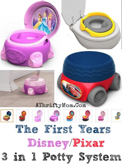 3 in 1 potty chair orange ghost disney pixar system pottytraining freeshipping everything you need all one