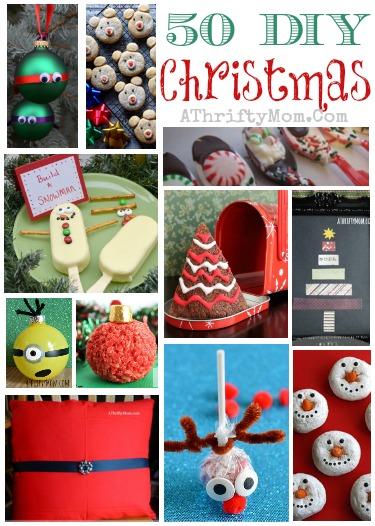 50 diy christmas ideas