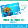 300 Visa Gift Card Giveaway Enter To Win A Thrifty