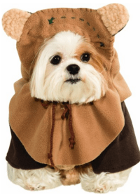 Star Wars Dog Costume  Storm Trooper, Ewok, Yoda, Bantha