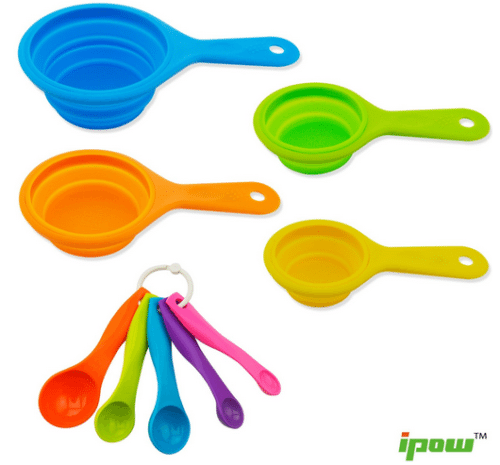 Collapsible Measuring Cups and Spoons  Space Saver