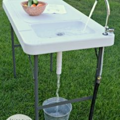 Outdoor Kitchen Equipment Sink White Table Review And Giveaway From Brylanehome ...