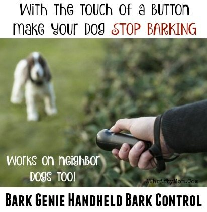 How To Make Your Dog STOP Barking With The Touch Of A Button Bark Genie Handheld Bark Control