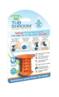 Tub shroom, guaranteed to stop hair from going down the drain