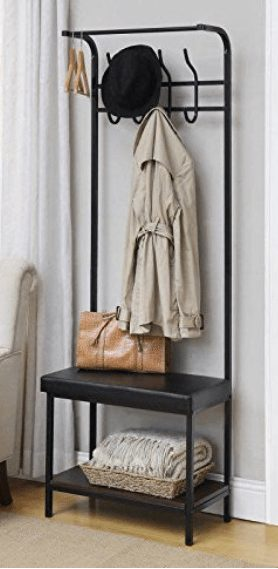 Entryway Bench Coat Rack A Thrifty Mom Recipes Crafts