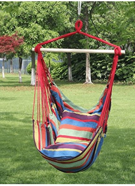 Hanging Rope Hammock Chair  A Thrifty Mom  Recipes