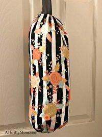 finished diy plastic bag holder - A Thrifty Mom - Recipes ...