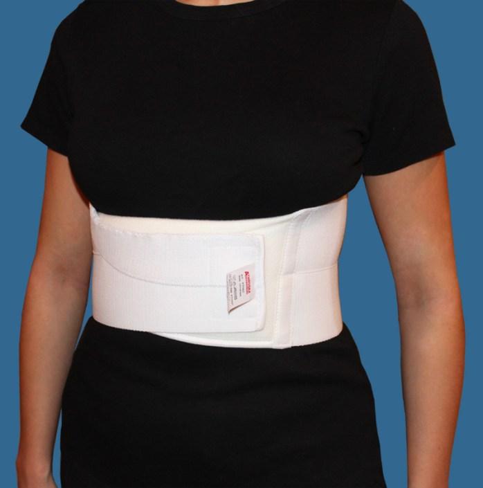abdominal post op cardiothoracic support belt