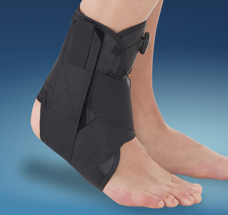 Ankle support brace with Boa® fixing - Athrohab
