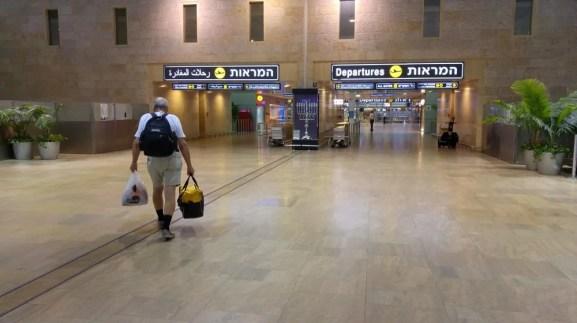 как вести себя в аэропорту Израиля