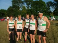 Runners from Goyt Valley Striders