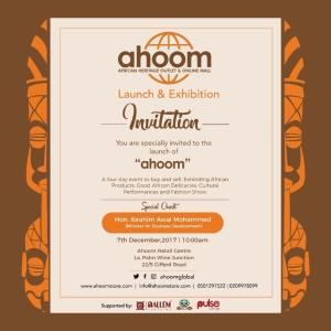 Ahoom to launch with a 4 day sales exhibition fair atigsi on display will be clothing and accessories jewellery bags footwear etc by designers artisans from across africa stopboris Images