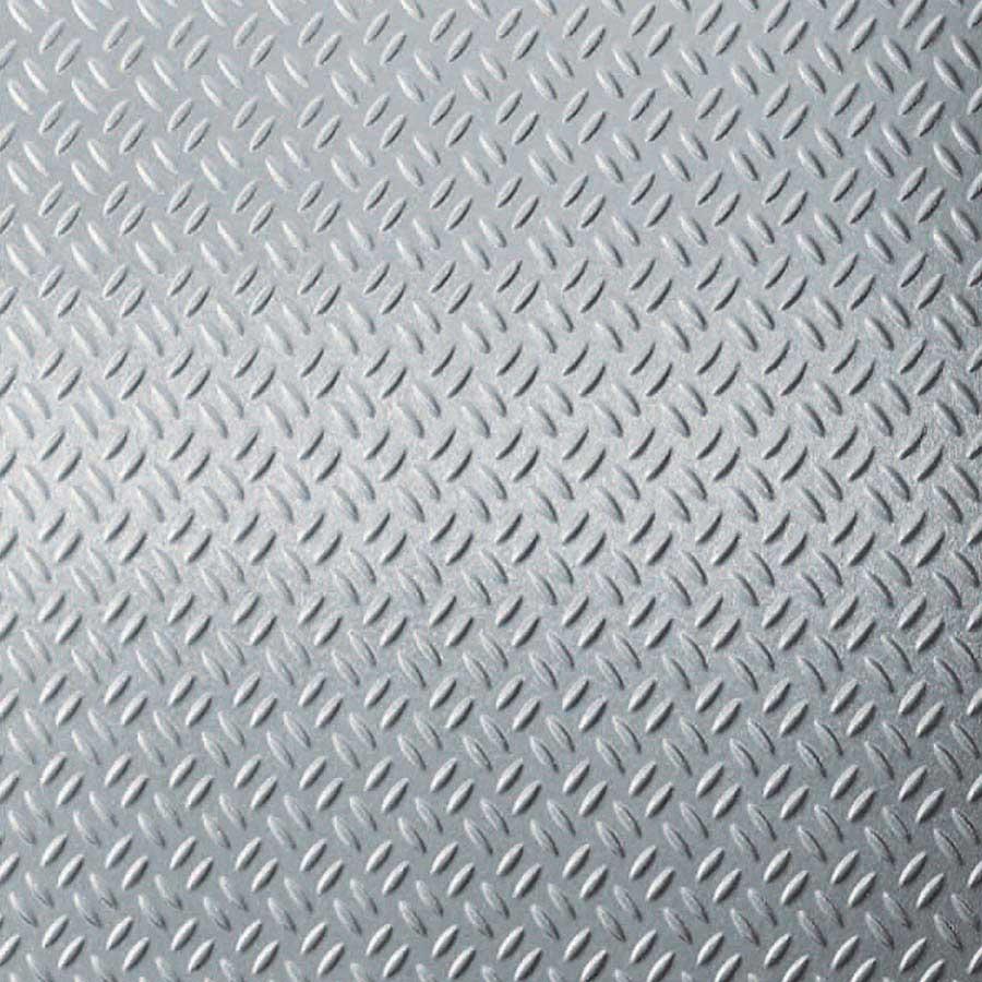 Brushed Aluminum Diamond Plate 924 GEK (Sample)