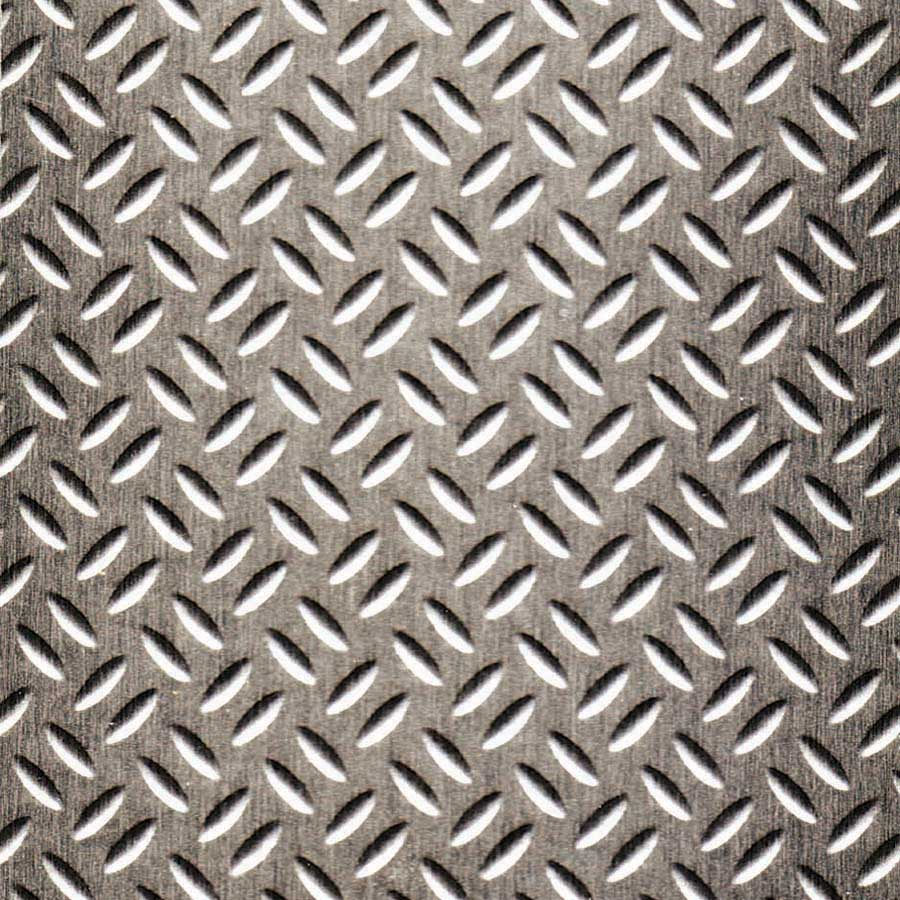 brushed stainless diamond plate