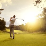 Relax at tennis and golf clubs.