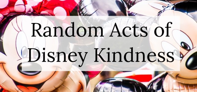 Random Acts of Disney Kindness