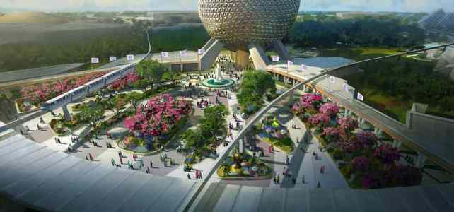The Transformation of Epcot