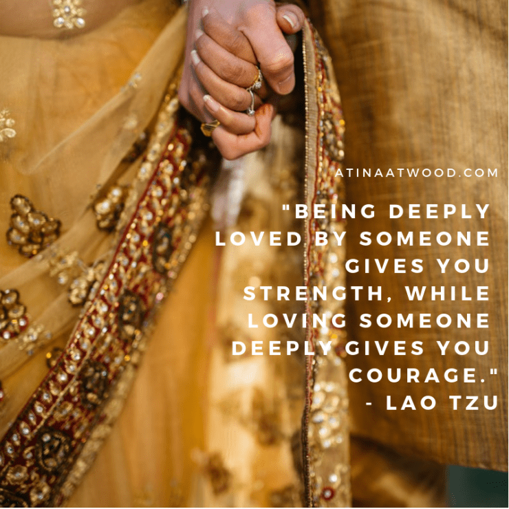loving takes courage