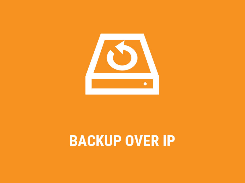 Backup Over IP