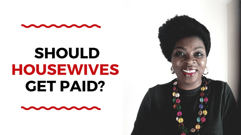 Should Housewives Get Paid?