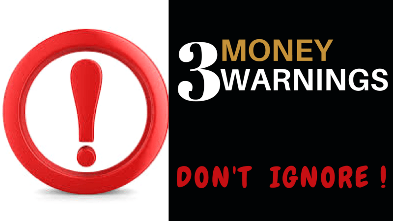 3 MONEY PITFALLS TO AVOID