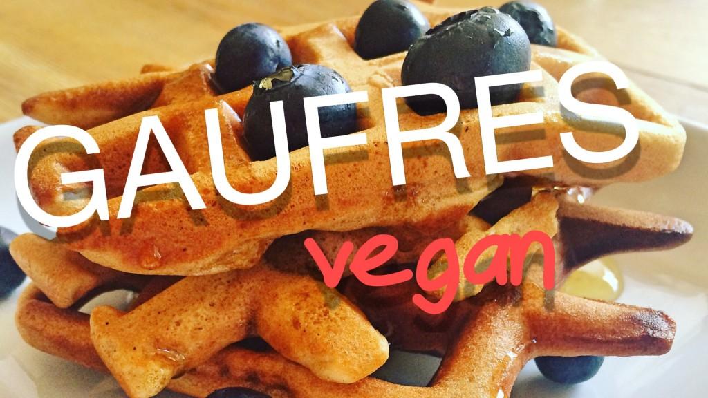 gaufre vegan