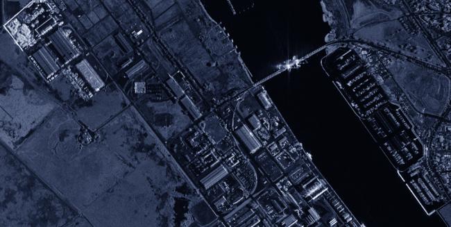imagen satelite sar